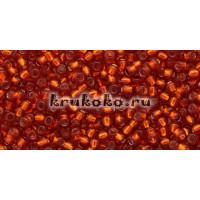 Бисер Toho 11/0 Внутреннее серебрение жженый апельсин