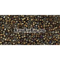 Бисер Toho 15/0 Металлизированный коричневый ирис
