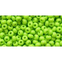 Бисер Preciosa 10/0 №53310 Непрозрачный салатовый, 1 сорт (50 гр)