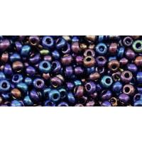 Бисер Preciosa 10/0 №59205 Металлик радужный темно-синий, 1 сорт (50 гр)