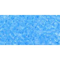 Бисер Preciosa 10/0 №60000 Прозрачный голубой, 1 сорт (50 гр)