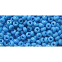Бисер Preciosa 10/0 №63050 Непрозрачный голубой, 1 сорт (50 гр)
