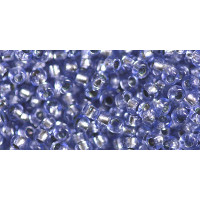 Бисер Preciosa 10/0 №78131 Внутреннее серебрение сапфир, 1 сорт (50 гр)