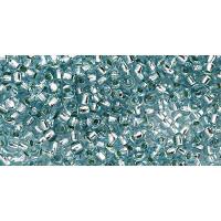 Бисер Preciosa 10/0 №78233 Внутреннее серебрение морская волна, 1 сорт (50 гр)