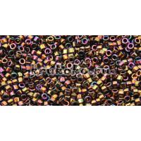 Бисер Miyuki Delica 11/0 Металлизированный бронзовый ирис (DB0023)