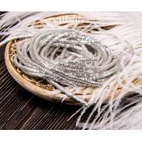 Трунцал зиг-заг, 2,6 мм, серебро (5 гр)