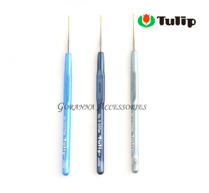 Tulip MinD Крючок для вязания с пластиковой ручкой 0,9мм