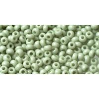 Бисер Preciosa 10/0 №03163  Непрозрачный зеленый, 2 сорт (50 гр)