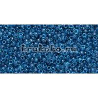Бисер Toho 15/0 Окрашенный изнутри морская вода + капри (TR-15-932)