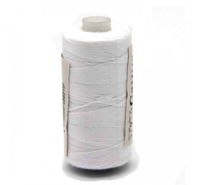 Micron Нить джинсовая 20s/3, белая