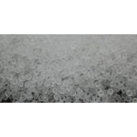 Бисер Preciosa 10/0 №00050 Прозрачный матовый белый, 1 сорт (50 гр)