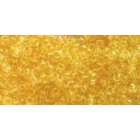 Бисер Preciosa 10/0 №01281 Прозрачный желтый, 1 сорт (50 гр)