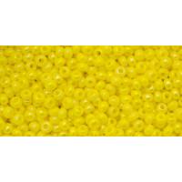 Бисер Preciosa 10/0 №84110 Непрозрачный люстровый лимон, 1 сорт (50 гр)