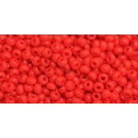 Бисер Preciosa 10/0 №93170  Непрозрачный красный, 1 сорт (50 гр)