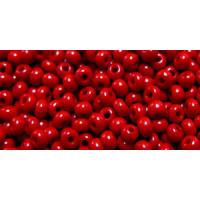 Бисер Preciosa 10/0 №93190  Непозрачный красный перец, 1 сорт (50 гр)
