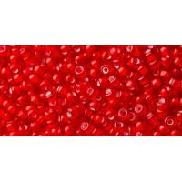 Бисер Preciosa 10/0 №95076 Прозрачный внутренний прокрас алый, 1 сорт (50 гр)