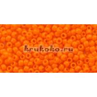 Бисер Toho 11/0 Непрозрачный оранжевый