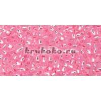 Бисер Toho 11/0 Внутреннее серебрение розовый