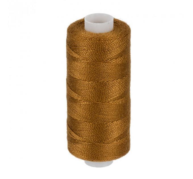Micron Нить джинсовая 20s/2, №442 коричнево-рыжий