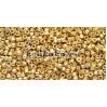 Бисер Miyuki Delica 11/0 Duracoat гальванизированный золото