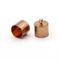 Колпачок-циллиндр, ВД 11мм, розовое золото