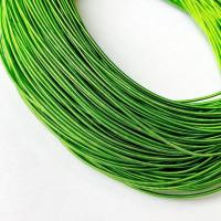 Канитель жесткая, 1,25 мм, зеленая трава (5 гр)