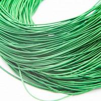 Канитель жесткая, 1,25 мм, зеленая (5 гр)