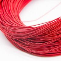 Канитель жесткая, 1,25 мм, красная (5 гр)