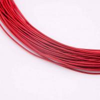 Канитель жесткая, 1 мм, красная (5 гр)