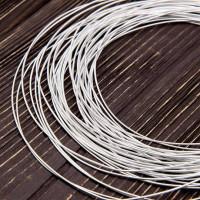 Канитель жесткая, 1,25 мм, серебро (5 гр)
