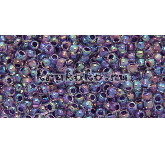 Бисер Toho 11/0 Окрашенный изнутри хрусталь + виноград (TR-11-774)