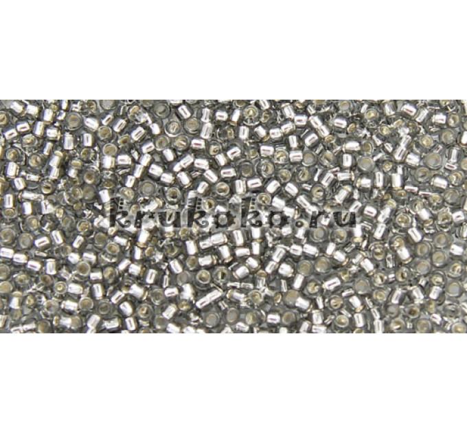 Бисер Toho 15/0 Внутреннее серебрение серый (TR-15-29)