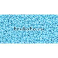 Бисер Toho 15/0 Непрозрачный радужный голубой (TR-15-403)