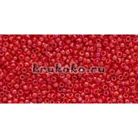 Бисер Toho 15/0 Непрозрачный радужный вишня (TR-15-405)