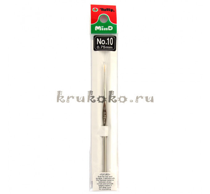 Tulip Крючок для вязания металлический 0,5мм