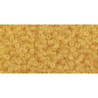 Бисер Preciosa 10/0 №10020M Прозрачный матовый светлый янтарный, 1 сорт (50 гр)