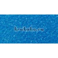 Бисер Toho 11/0 Прозрачный темный аквамарин (TR-11-3B)