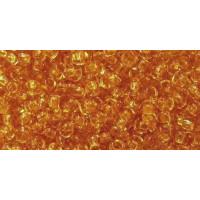 Бисер Preciosa 10/0 №10050 Прозрачный янтарь, 1 сорт (50 гр)