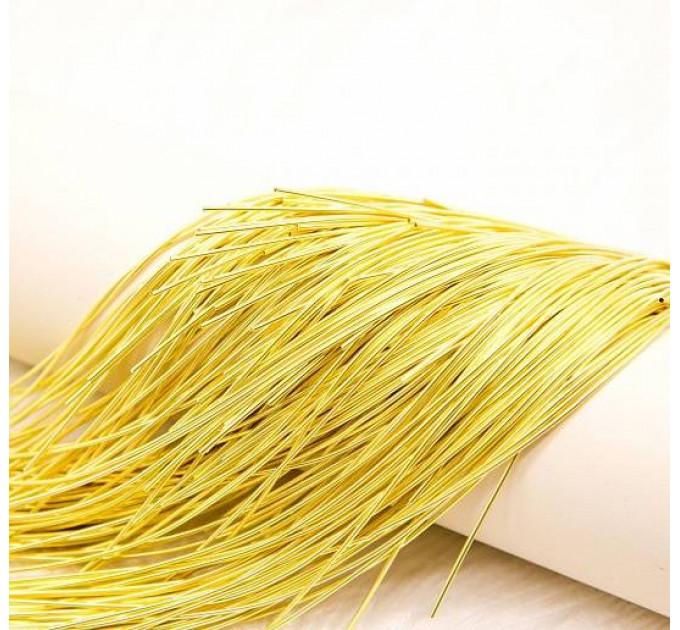 Канитель мягкая, 1 мм, желтая, (5 гр)