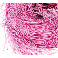 Канитель мягкая, 1 мм,  матовая розовая (5 гр)