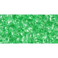 Бисер Preciosa 10/0 №01161 Прозрачный светло-зеленый1 сорт (50 гр)