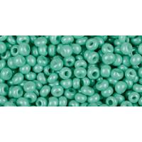 Бисер Preciosa 10/0 №16958 Непрозрачный бирюзовый, 1 сорт (50 гр)