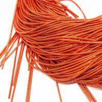 Трунцал зиг-заг, 2,6 мм, оранжевый (5 гр)
