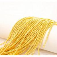 Трунцал зиг-заг, 2,6 мм, желтое золото (5 гр)