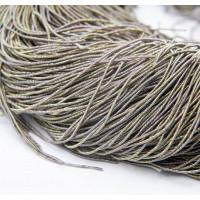 Трунцал, 1 мм, гладкий, зелено-коричневый (5 гр)