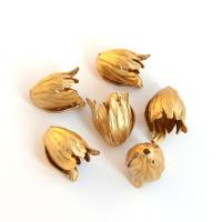 Колпачок-шапочка Тюльпан, США, латунь, золото
