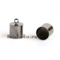 Колпачок-циллиндр, ВД 9мм, черный