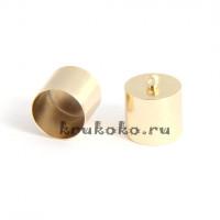 Колпачок-циллиндр, ВД 13мм, золото
