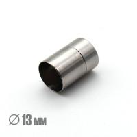 Магнитная застежка, ВД 13мм, нержавеющая сталь