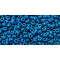 Бисер Preciosa 10/0 №33220 Непрозрачный джинс, 1 сорт (50 гр)